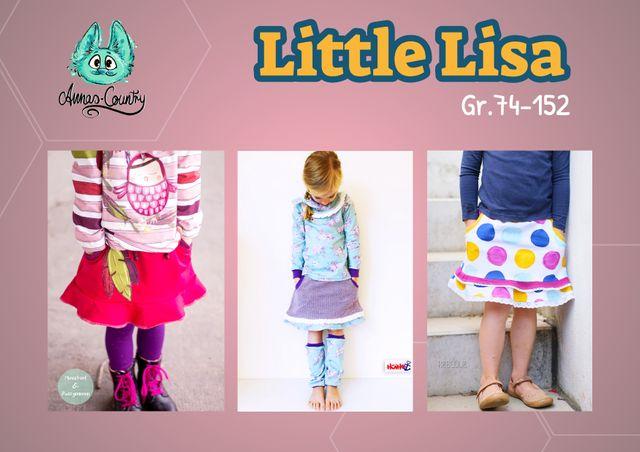 Produktfoto von Annas-Country zum Nähen für Schnittmuster Little Lisa