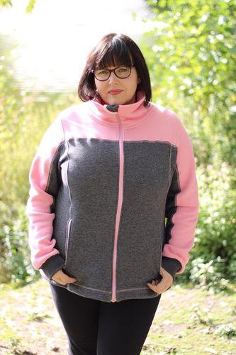 Produktfoto von Meine Herzenswelt zum Nähen für Schnittmuster Fleecejacke Damen - Mein Pedro