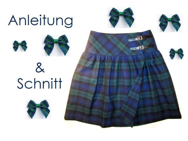 Produktfoto von Lunicum zum Nähen für Schnittmuster Damen Wickelrock
