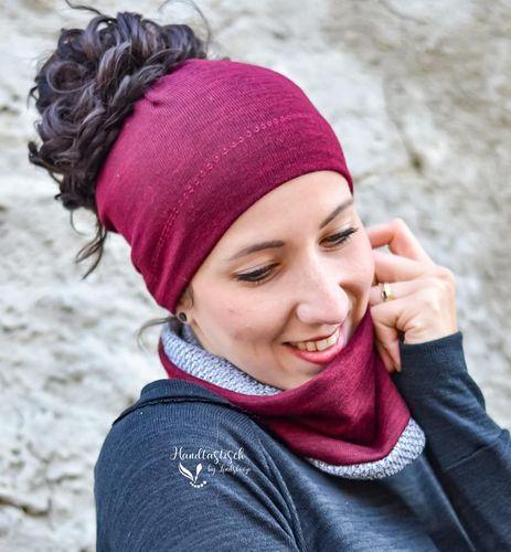Produktfoto von Meine Herzenswelt zum Nähen für Schnittmuster Zopfmütze - Mikko