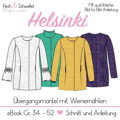 Produktfoto von Pech & Schwefel zum Nähen für Schnittmuster Helsinki