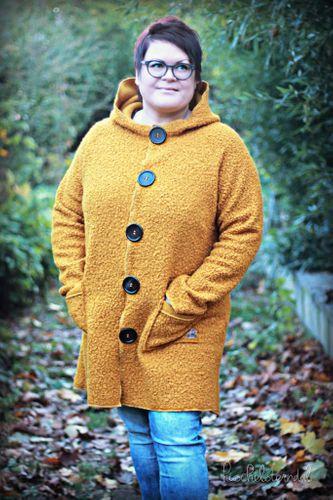 Produktfoto von Meine Herzenswelt zum Nähen für Schnittmuster Cardigan Damen - Meine Svala plus