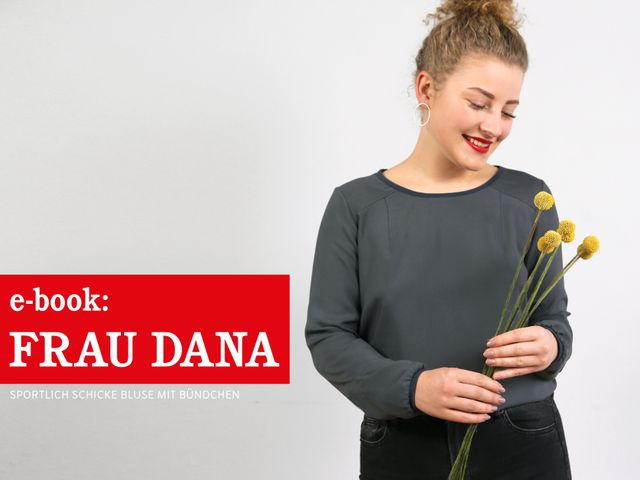 Produktfoto von STUDIO SCHNITTREIF zum Nähen für Schnittmuster Frau Dana