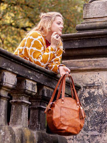 Produktfoto von LaLilly Herzileien zum Nähen für Schnittmuster Circlebag Rondabel