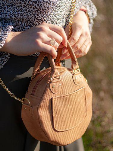 Produktfoto von LaLilly Herzileien zum Nähen für Schnittmuster Circlebag Rondabelita