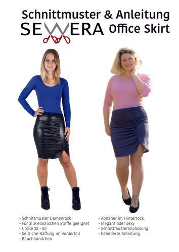 Produktfoto von sewera zum Nähen für Schnittmuster Office Skirt