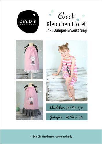 Produktfoto von Din.Din zum Nähen für Schnittmuster Kleidchen Floret
