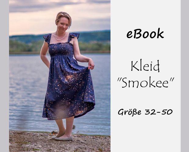 Produktfoto von Bunte Nähigkeiten zum Nähen für Schnittmuster Kleid Smokee