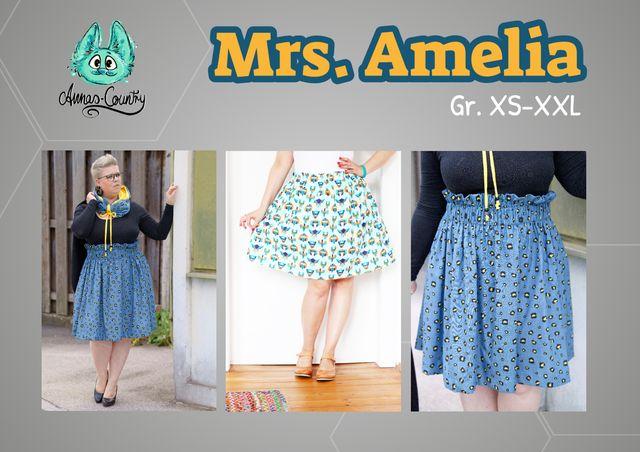 Produktfoto von Annas-Country zum Nähen für Schnittmuster Rock Mrs. Amelia
