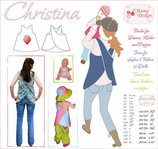 Produktfoto von Mamu Design für Schnittmuster Christina