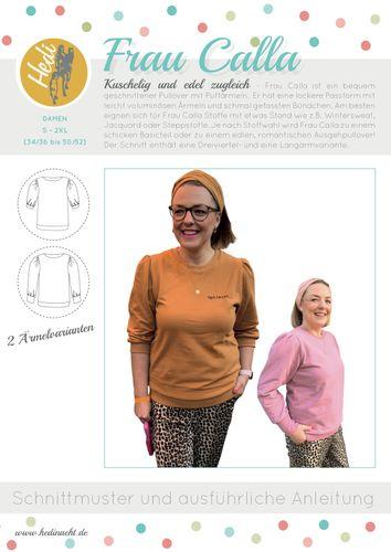 Produktfoto von Hedi zum Nähen für Schnittmuster Frau Calla
