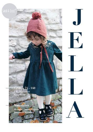 Produktfoto von Sara & Julez zum Nähen für Schnittmuster Kleid Jella
