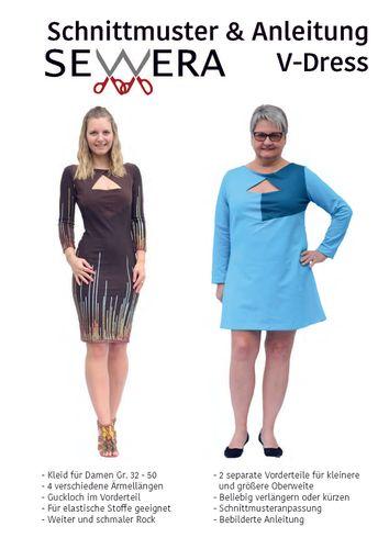 Produktfoto von sewera zum Nähen für Schnittmuster V-Dress