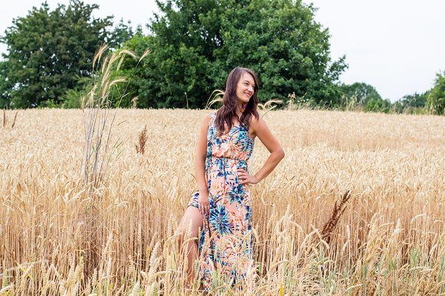 Produktfoto von lemon & mint Couture zum Nähen für Schnittmuster Kleid Florenz
