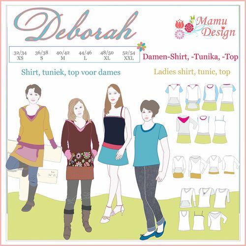 Produktfoto von Mamu Design zum Nähen für Schnittmuster Deborah