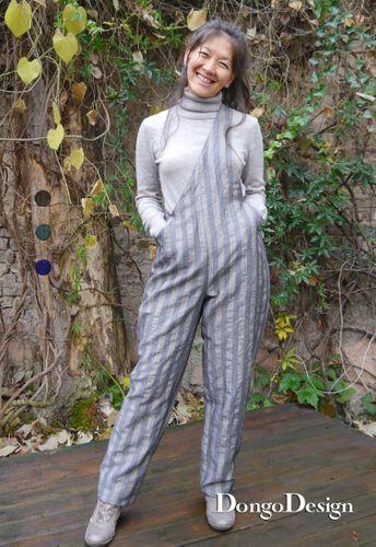 Produktfoto von DongoDesign zum Nähen für Schnittmuster Hose Das Beuteltier