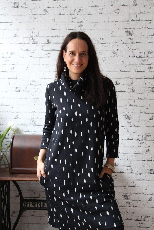 Produktfoto von Finas Ideen zum Nähen für Schnittmuster Ella - Kleid oder Pullover