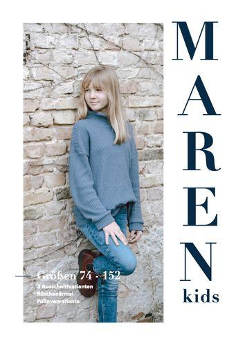 Produktfoto von Sara & Julez zum Nähen für Schnittmuster Oversize shirt MAREN Kids