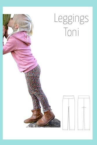 Produktfoto von Berlinerie zum Nähen für Schnittmuster Leggings Toni