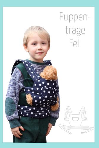 Produktfoto von Berlinerie zum Nähen für Schnittmuster Puppentrage Feli