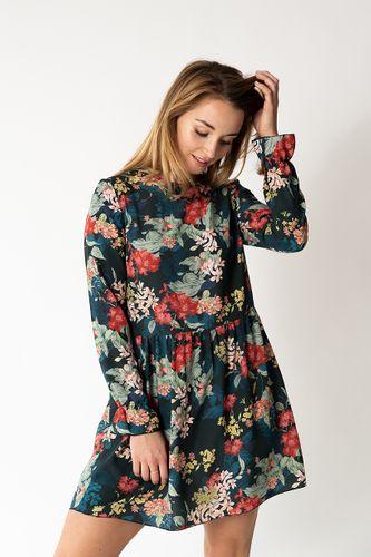 Produktfoto von fashiontamtam zum Nähen für Schnittmuster Kleid mit Rüschen #kleidruffles
