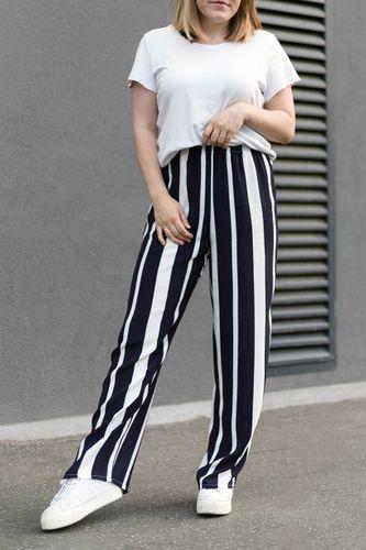 Produktfoto von fashiontamtam zum Nähen für Schnittmuster Hose #palazzo