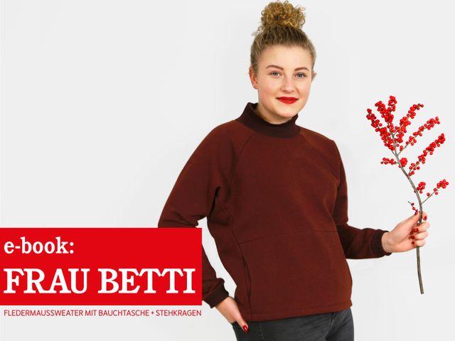Produktfoto von STUDIO SCHNITTREIF zum Nähen für Schnittmuster Frau Betti