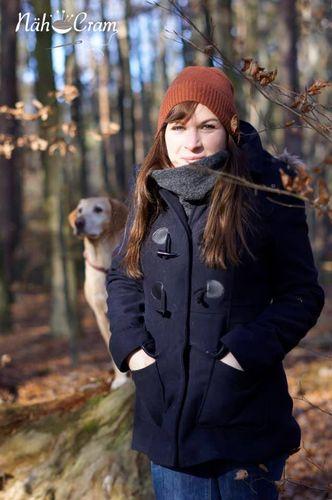 Produktfoto von Nähcram zum Nähen für Schnittmuster Trageschal MissCarryMe
