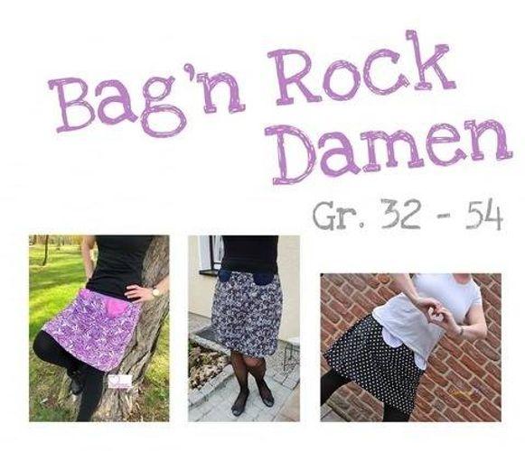 Produktfoto von Traumfaden Werkstatt zum Nähen für Schnittmuster Bag'nRock Damen