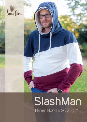 Produktfoto von Smalino zum Nähen für Schnittmuster Hoodie Slashman