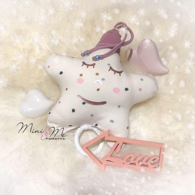 Produktfoto von Mini & Me Patterns zum Nähen für Schnittmuster Spieluhr Stern