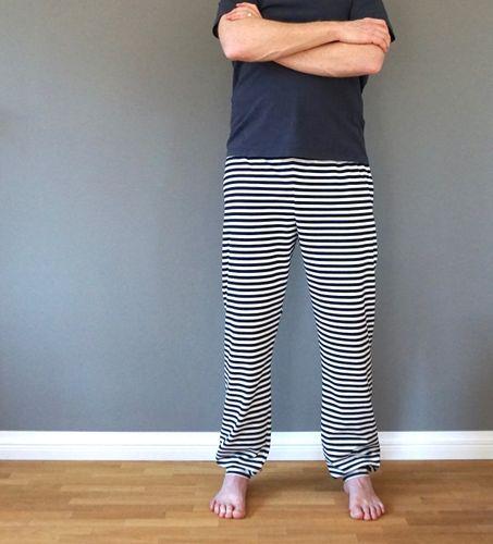 Produktfoto von Windschnittich zum Nähen für Schnittmuster Theo - Jerseyhose für Männer