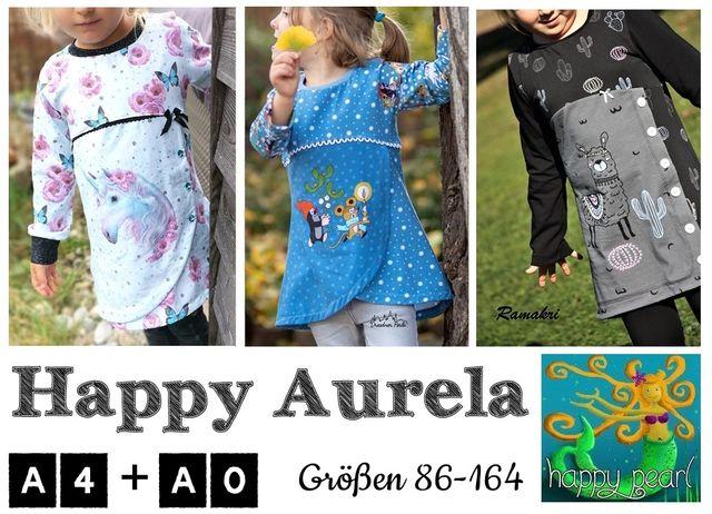 Produktfoto von Happy Pearl zum Nähen für Schnittmuster Happy Aurela
