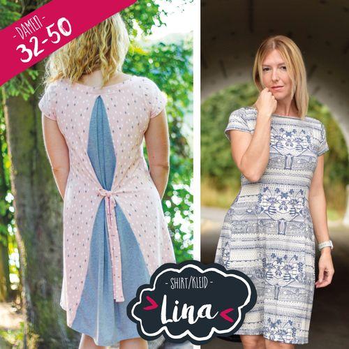 Produktfoto von Katiela zum Nähen für Schnittmuster Kleid/Shirt Lina