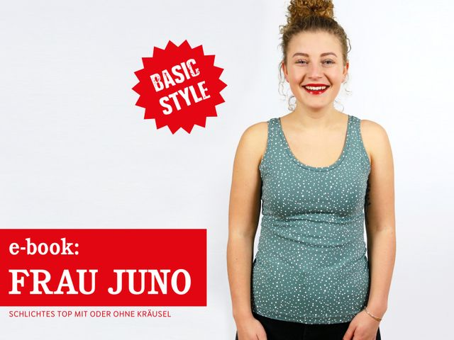 Produktfoto von STUDIO SCHNITTREIF zum Nähen für Schnittmuster Frau Juno