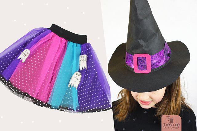 Produktfoto von shesmile zum Nähen für Schnittmuster Hexen-Kostüm Annabelle