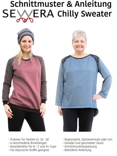 Produktfoto von sewera zum Nähen für Schnittmuster Chilly Sweater