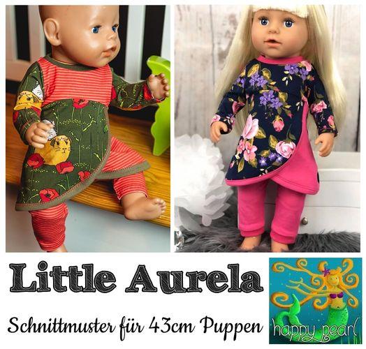 Produktfoto von Happy Pearl zum Nähen für Schnittmuster Little Aurela