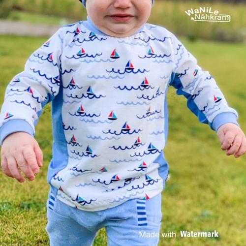 Produktfoto von Näh Bärchen zum Nähen für Schnittmuster Basicshirt For You!