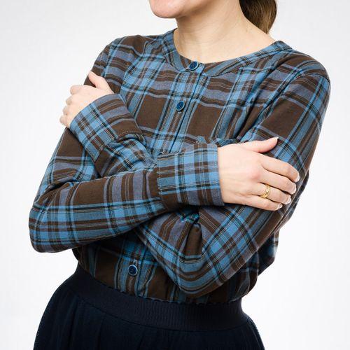 Produktfoto von pedilu zum Nähen für Schnittmuster LaWoodie Blouse