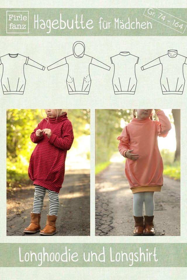 Produktfoto von Firlefanz zum Nähen für Schnittmuster Hagebutte für Mädchen