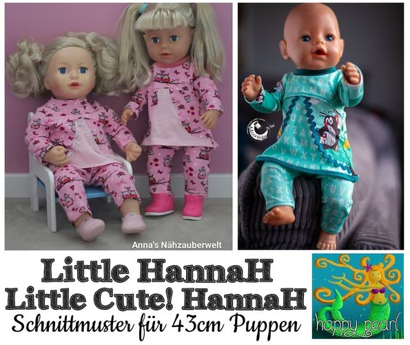 Produktfoto von Happy Pearl zum Nähen für Schnittmuster Little HannaH