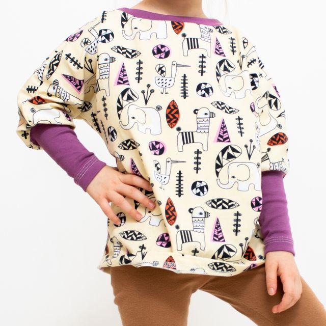 Produktfoto von Libminna zum Nähen für Schnittmuster Lib-Pumpshirt