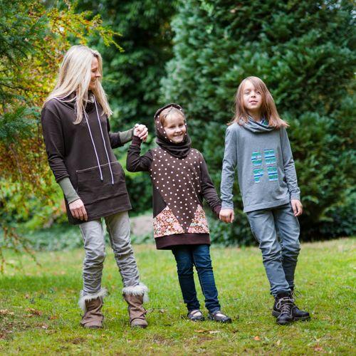 Produktfoto von Mamu Design zum Nähen für Schnittmuster Anne & Greta