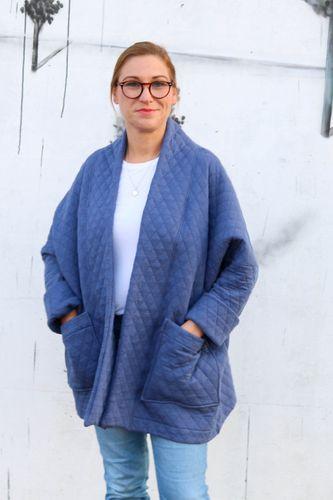 Produktfoto von Kid5 zum Nähen für Schnittmuster Kimono Jacket Women