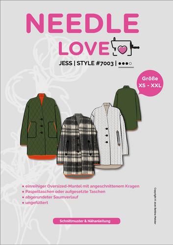 Produktfoto von {NEEDLE LOVE} zum Nähen für Schnittmuster Jess