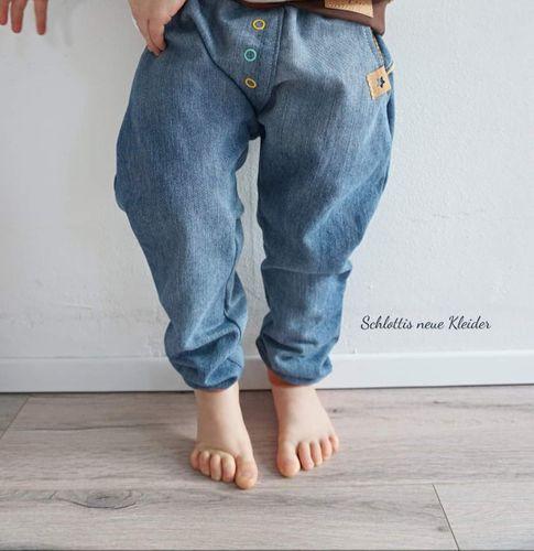 Produktfoto von FrleinFaden zum Nähen für Schnittmuster Lange Kinderhose