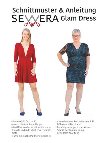 Produktfoto von sewera zum Nähen für Schnittmuster Glam Dress