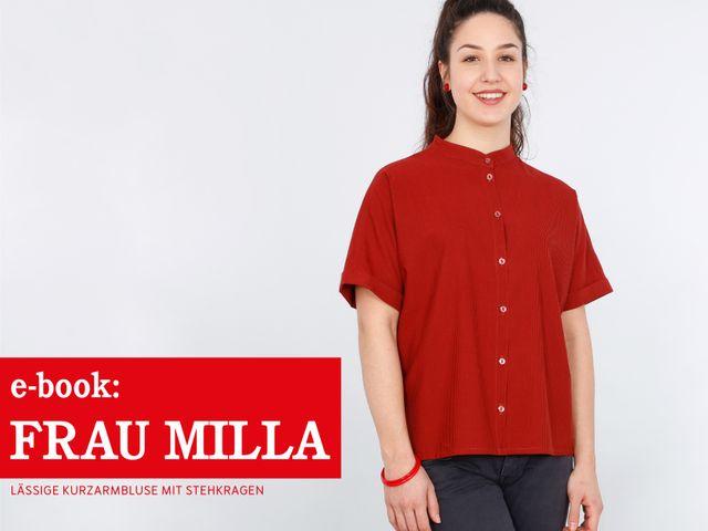 Produktfoto von STUDIO SCHNITTREIF zum Nähen für Schnittmuster Frau Milla
