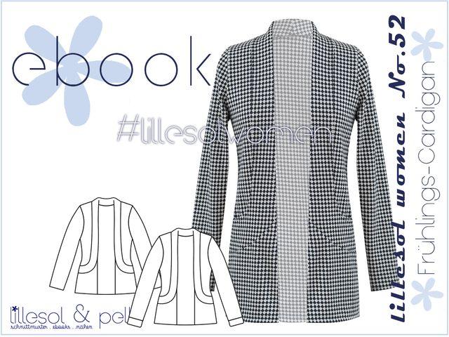 Produktfoto von Lillesol & Pelle zum Nähen für Schnittmuster Lillesol women No. 52 Frühlings-Cardigan